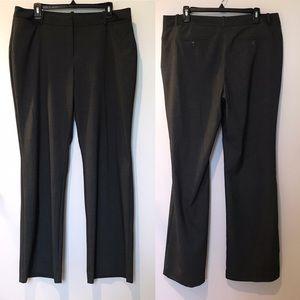 Worthington Modern Fit Gray Trousers Slacks Pants